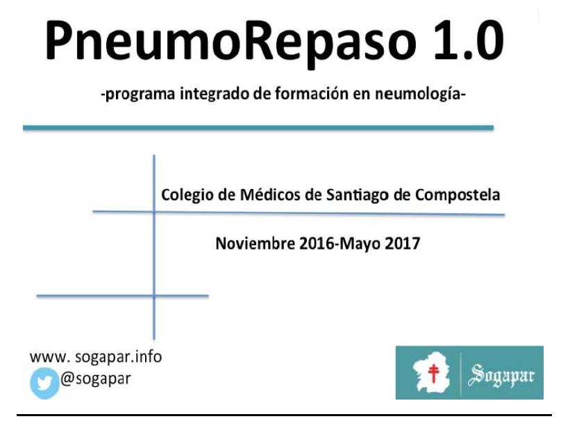 Pneumorepaso - SOGAPAR - Sociedade Galega de Patoloxia Respiratoria